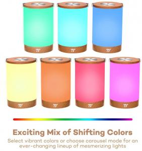 Lampa led reincarcabila TaoTronics TT-DL23 control Touch, 7 culori de lumina2