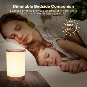 Lampa led reincarcabila TaoTronics TT-DL23 control Touch, 7 culori de lumina8