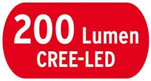 Lanterna de Cap LED Brennenstuhl LuxPremium KL 200 F, IP44, CREE-LED, 200lm, Lumina in  fata si in spate2