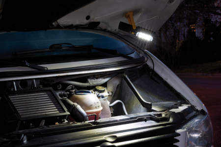 Lanterna de Lucru LED Brennenstuhl 8+1  SMD-LED Multifunctionala, 250 +100 Lumeni [3]