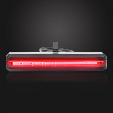 Stop LED pentru bicicleta Supfire BL07, reincarcabil USB, 6 moduri luminare [2]