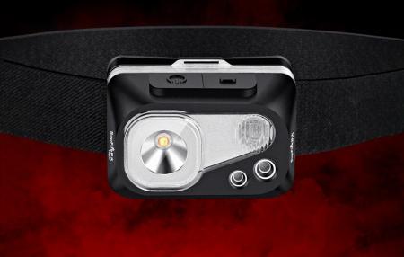 Lanterna LED pentru cap Supfire HL07, 5W, 320 lm, 1200 mAh, senzor de miscare, 5 moduri, incarcare USB, IP67, Negru [5]