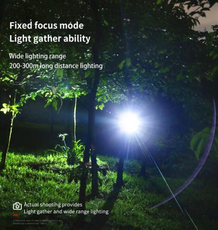 Lanterna LED pentru cap Supfire HL16, 5W, 500 lm, 1800 mAh, senzor de miscare, lumina rosie, incarcare USB, IP44 [5]