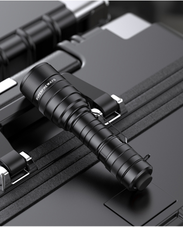 Lanterna LED SupFire F5 cu Zoom, 10W, 1100 lm, 5 moduri, rezistenta la apa, incarcare USB, Negru [8]