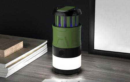 Lanterna LED SupFire T15, Pentru Camping, 500 lm, anti insecte,  incarcare USB, PowerBank , 5 moduri [7]