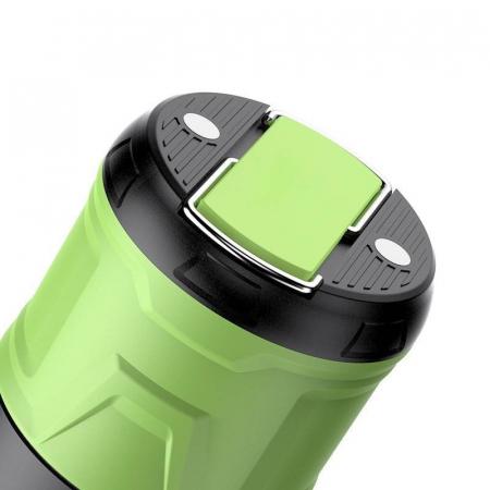 Lanterna LED SupFire T15, Pentru Camping, 500 lm, anti insecte,  incarcare USB, PowerBank , 5 moduri [3]