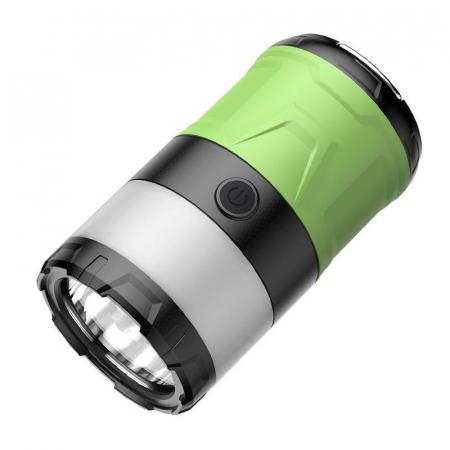 Lanterna LED SupFire T15, Pentru Camping, 500 lm, anti insecte,  incarcare USB, PowerBank , 5 moduri [2]