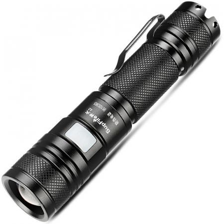 Lanterna LED Lanterna Supfire A2, Incarcare USB, ZOOM 950lm, 200m [0]