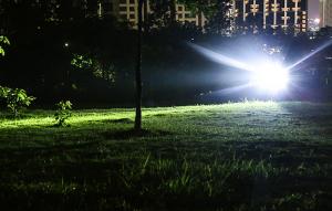 Lanterna LED Supfire M9-E, USB, 775lm, 473m, PowerBank, incarcare USB, 6000mAh, lumina rosie [2]