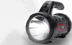 Lanterna LED Supfire M9-X, USB, 440lm, 390m, PowerBank, incarcare USB, 3000mAh, lumina rosie [2]