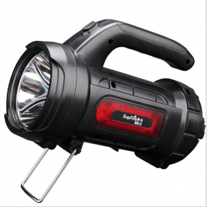 Lanterna LED Supfire M9-X, USB, 440lm, 390m, PowerBank, incarcare USB, 3000mAh, lumina rosie [1]