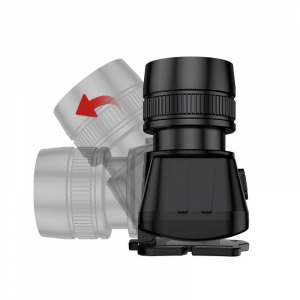 Lanterna LED pentru cap Supfire HL50, USB, 300lm, 200m, incarcare USB2