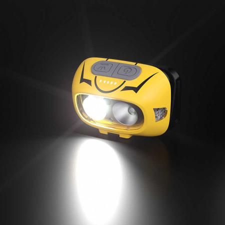 Lanterna LED pentru cap Supfire HL05-S, USB, 500lm, incarcare USB, control miscare mana [4]
