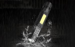 Lanterna Multifunctionala LED Supfire G19, USB, 500lm, 200m, incarcare USB, lumina rosie, suport cap, prindere magnetica [10]
