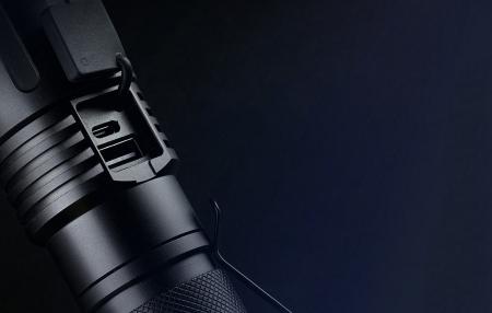 Lanterna LED SupFire X60-T cu Zoom, 36W, 3000 lm, 3400 mAh, incarcare USB, IP34, functie Powerbank [2]