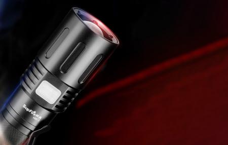 Lanterna LED SupFire X60-T cu Zoom, 36W, 3000 lm, 3400 mAh, incarcare USB, IP34, functie Powerbank [1]