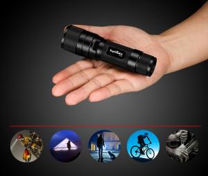 Lanterna Supfire F3-XPE, USB, ZOOM, 300lm, 250m7