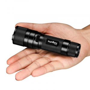Lanterna Supfire F3-XPE, USB, ZOOM, 300lm, 250m3