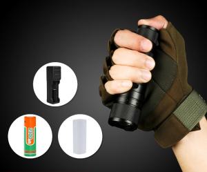 Lanterna Supfire F3-XPE, USB, ZOOM, 300lm, 250m6