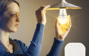 Bec Inteligent LED NiteBird WB4, 8W, 800lm, 2700K, E275