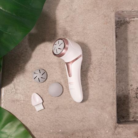 Pila electrica pentru calcaie Cecotec  Bamba SkinCare Pure, 3 discuri diferite [3]