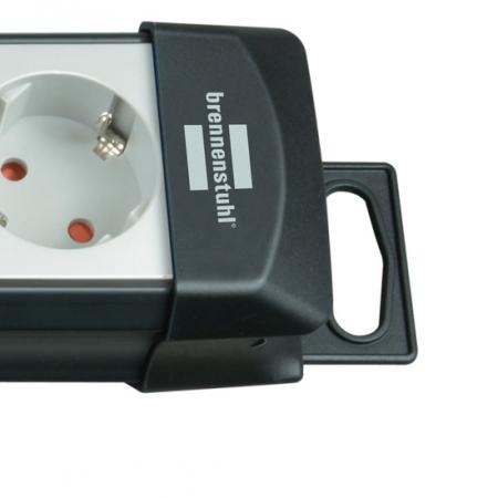Prelungitor Brennenstuhl Premium-Line 8 prize, Protectie supratensiune, Intrerupator, 3m H05VV-F 3G1,5 [2]