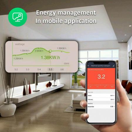 Prelungitor Smart Nous A5, Wifi, 15W. 3.1A [7]