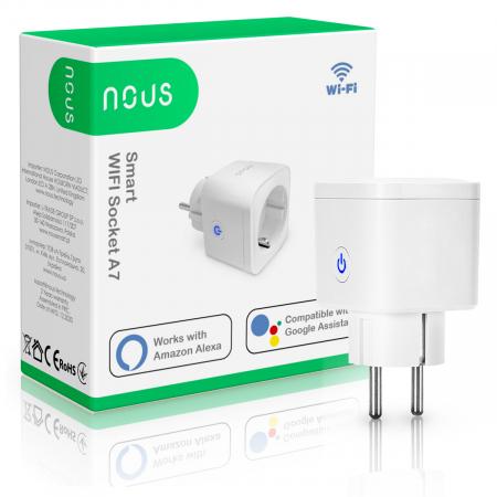 Priza inteligenta WiFi NOUS A7, 16A [3]