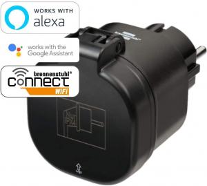 Priza Smart Brennenstuhl Connect WiFi  WA 3000 XS02, IP44, exterior [1]