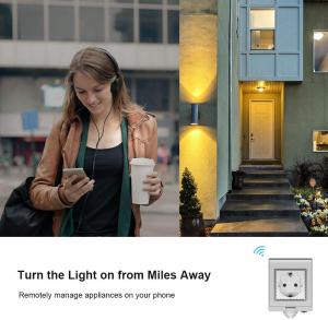 Priza Smart Sonoff S55 pentru exterior rezistenta la apa, Control din Smartphone4