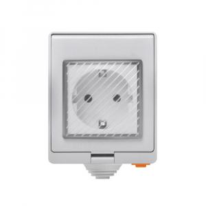Priza Smart Sonoff S55 pentru exterior rezistenta la apa, Control din Smartphone0
