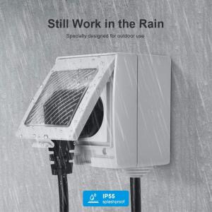 Priza Smart Sonoff S55 pentru exterior rezistenta la apa, Control din Smartphone2