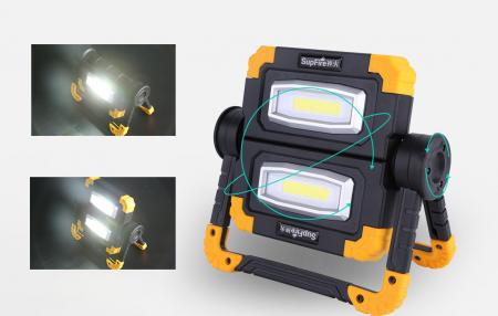 Proiector LED portabil SupFire G7, 20W, 2000lm, reincarcabil, COB, Acumulator 5000mAh [1]