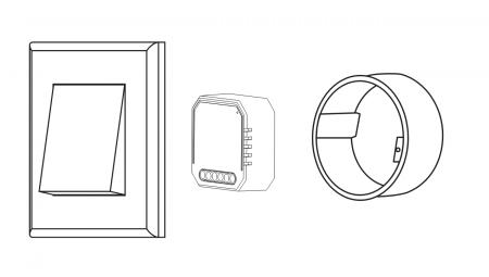 Releu wireless Nous L7, 1 canal, Smart, Control din aplicatie2
