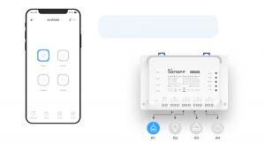 Releu Wireless Sonoff 4CHR3, 4 canale, Alexa / Google Home [2]