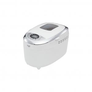 Masina de paine ADLER AD 6019,gluten free, 2 palete framantare, 1100 W, 1250 g, 12 Programe, afisaj LCD, Alb [4]
