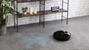 Robot de aspirare Cecotec Conga 3390, 4 in 1, 2300 Pa, Laser, Autonomie 150 minute, Rezervor lichide si praf, Functie mop, 2 perii centrale11