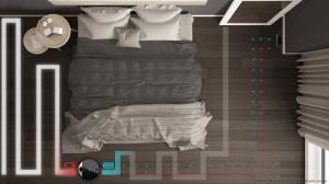 Robot de aspirare Cecotec Conga 3390, 4 in 1, 2300 Pa, Laser, Autonomie 150 minute, Rezervor lichide si praf, Functie mop, 2 perii centrale8