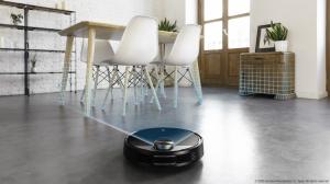 Robot de aspirare Cecotec Conga 3390, 4 in 1, 2300 Pa, Laser, Autonomie 150 minute, Rezervor lichide si praf, Functie mop, 2 perii centrale6