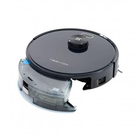 Robot de aspirare Tesvor S6, 2700 Pa, Laser, Autonomie 120 minute, Rezervor lichide si praf, Functie mop [12]