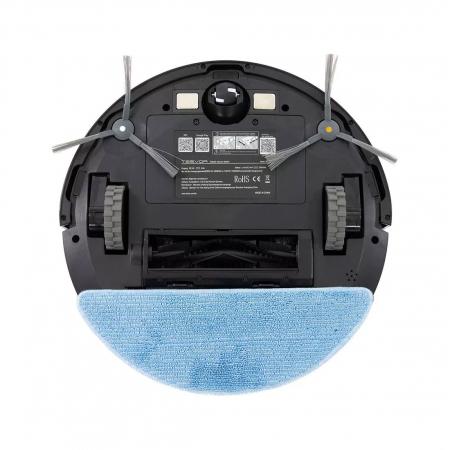 Robot de aspirare Tesvor S6, 2700 Pa, Laser, Autonomie 120 minute, Rezervor lichide si praf, Functie mop [14]