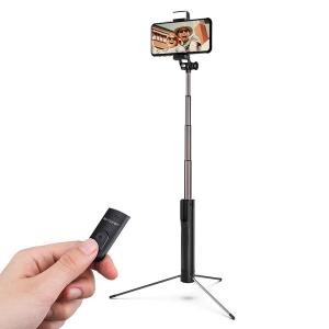 Selfie Stick Tripod BlitzWolf 3 in 1 cu  Lanterna LED si telecomanda detasabila - BW-BS8 [10]