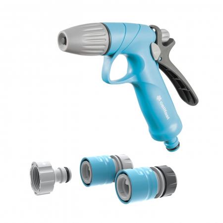 """Set pistol pentru stropit Cellfast IDEAL, conectori 1/2"""" - 5/8""""0"""