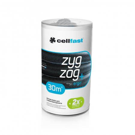 Set furtun pentru gradina extensibil Cellfast ZygZag 30m, pistol, conectori3