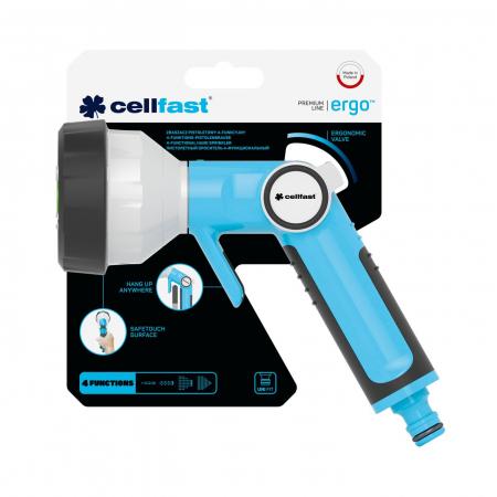 Pistol pentru stropit cu 4 functii Cellfast ERGO [4]