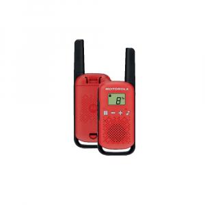 Statie radio PMR portabila Motorola Talkabout T42 RED, set 2 buc0