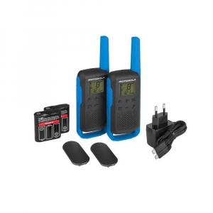 Statie radio PMR portabila Motorola TALKABOUT T62 BLUE, set cu 2 buc [1]