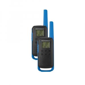 Statie radio PMR portabila Motorola TALKABOUT T62 BLUE, set cu 2 buc [0]