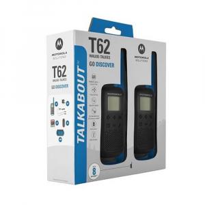 Statie radio PMR portabila Motorola TALKABOUT T62 BLUE, set cu 2 buc [2]