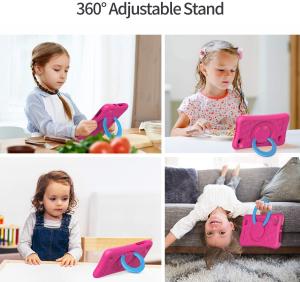 Tableta copii de 7 inch HD Vankyo Z1, Quad-Core Android 8.1 Oreo 1GB, 32GB - Roz [2]